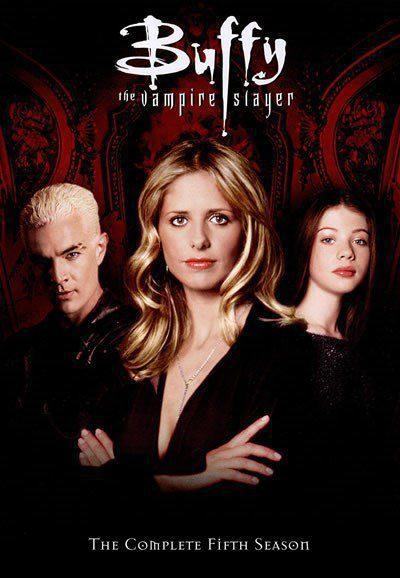 Cartel Temporada 5 de 'Buffy, cazavampiros'