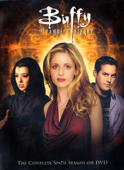 Cartel Temporada 6 de 'Buffy, cazavampiros'