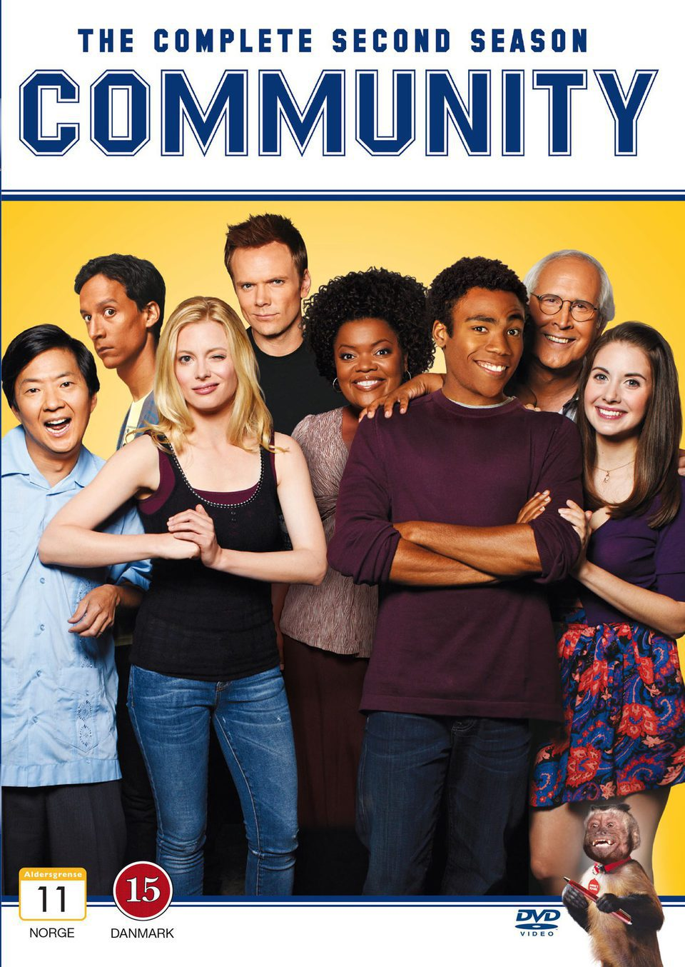Cartel Temporada 2 de 'Community'