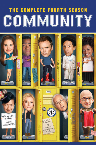 Cartel Temporada 4 de 'Community'