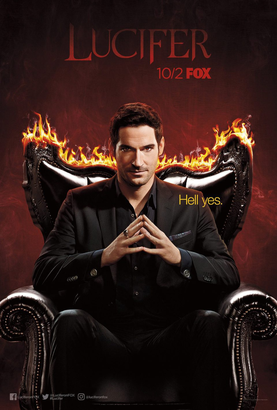 Cartel Temporada 3 de 'Lucifer'