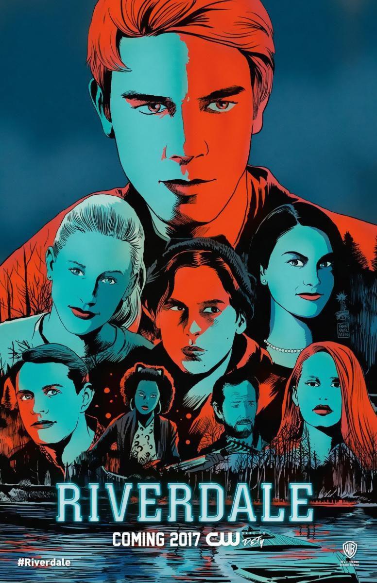 Cartel Teaser Temporada 1 de 'Riverdale'