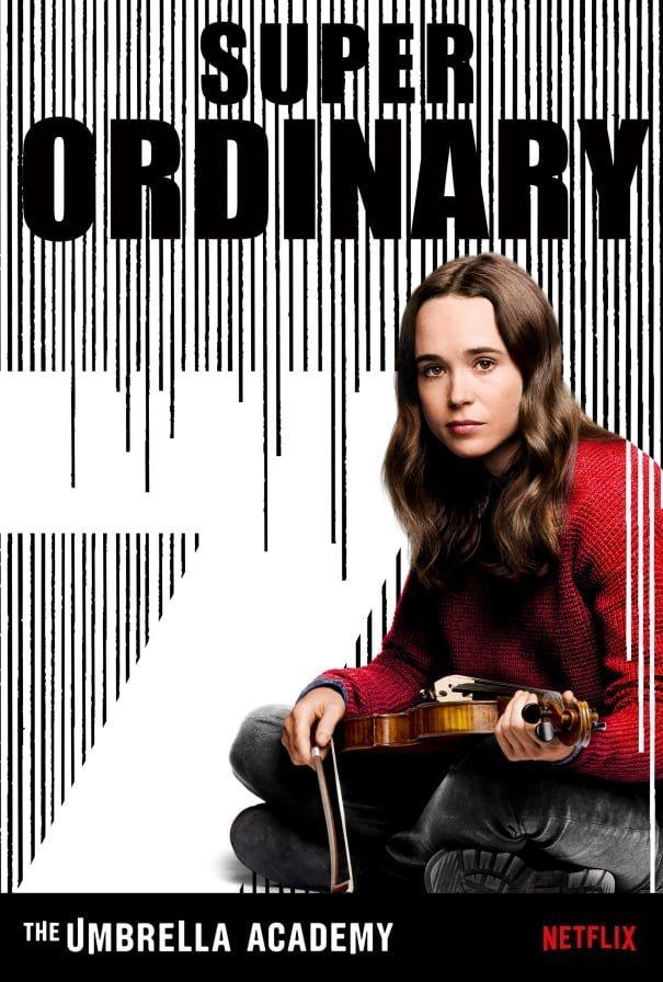 Cartel Temporada 1 - Vanya de 'The Umbrella Academy'