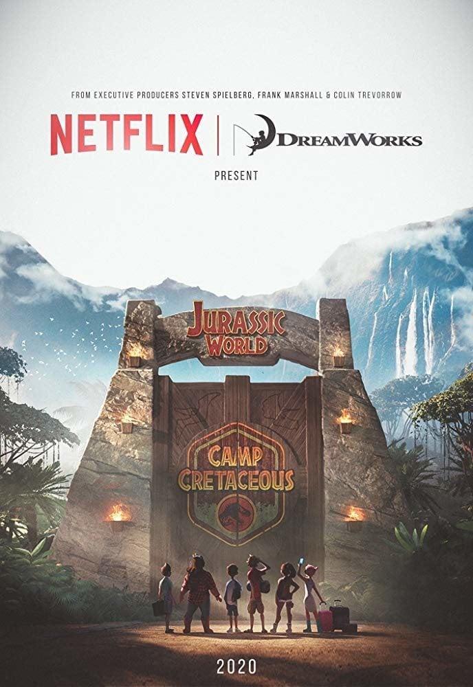Cartel Temporada 1 de 'Jurassic World: Campamento Cretácico'