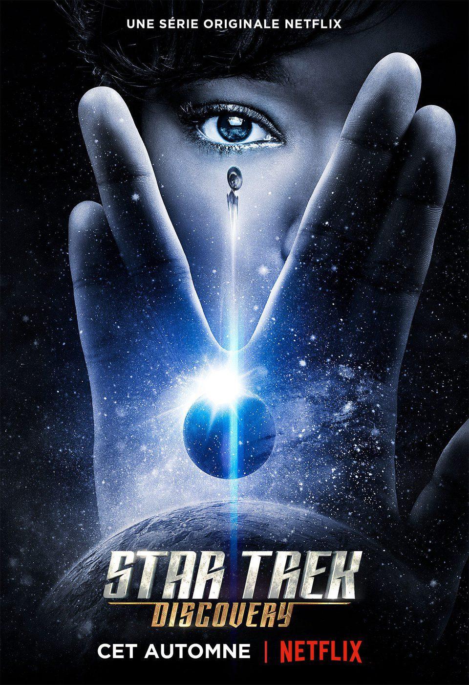 Cartel Temporada 1 de 'Star Trek: Discovery'