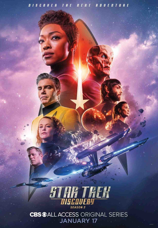 Cartel Temporada 2 de 'Star Trek: Discovery'
