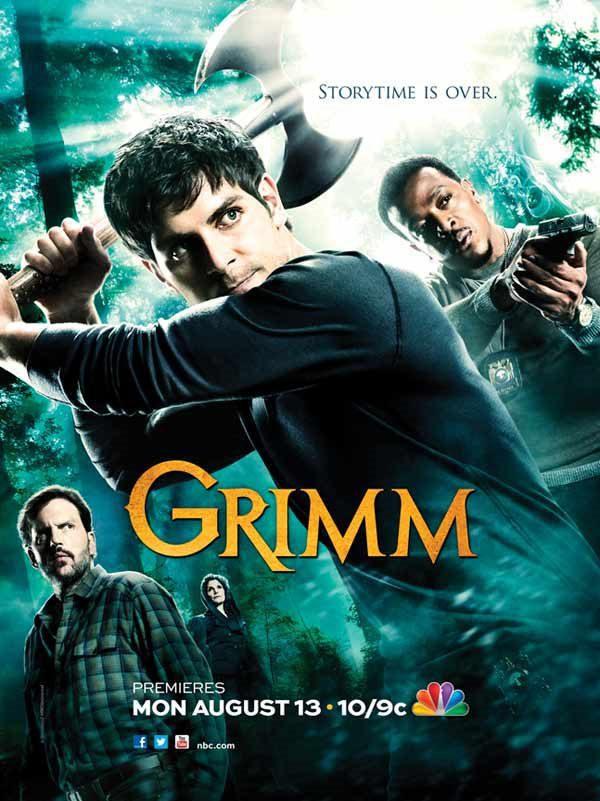 Cartel Temporada 2 de 'Grimm'