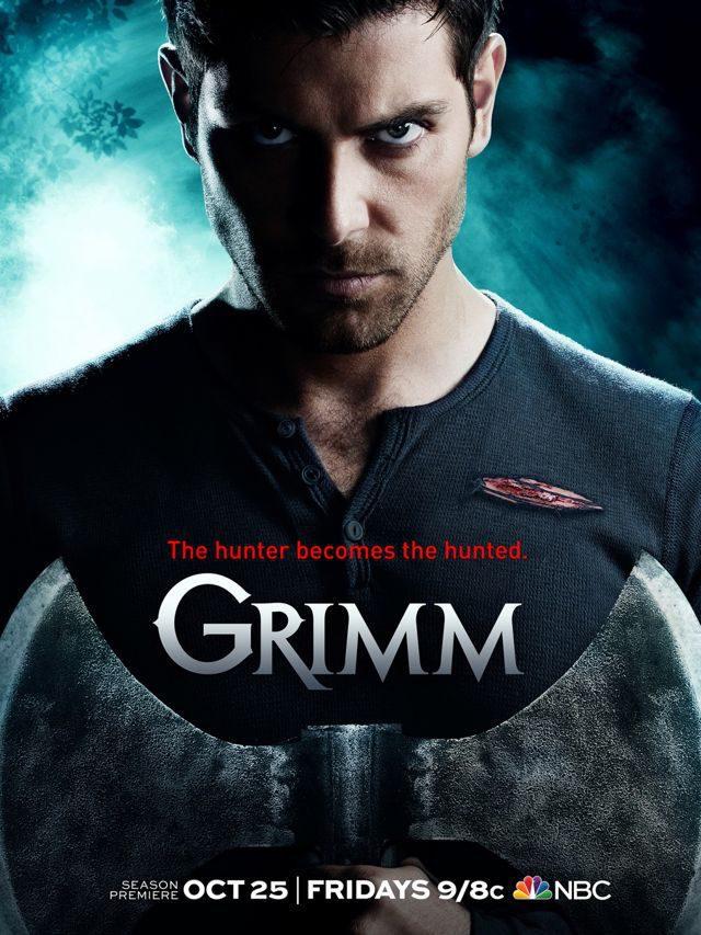 Cartel Temporada 3 de 'Grimm'