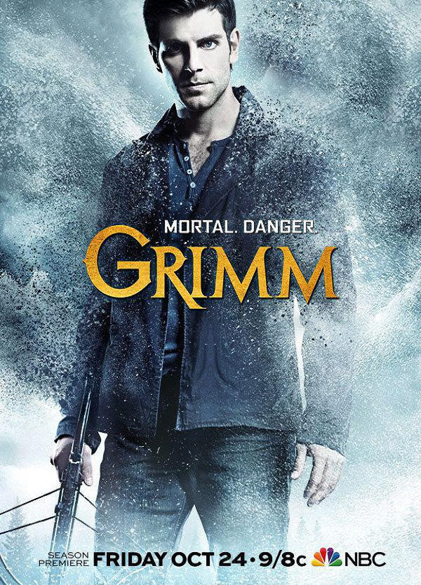 Cartel Temporada 4 de 'Grimm'