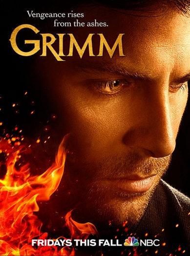 Cartel Temporada 5 de 'Grimm'