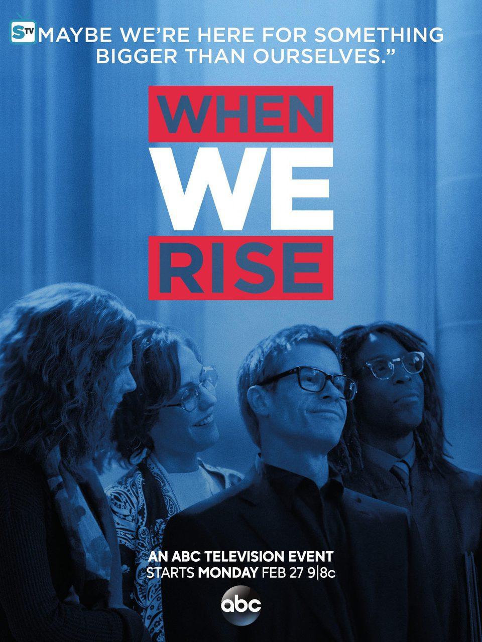 Cartel Temporada 1 de 'When We Rise'