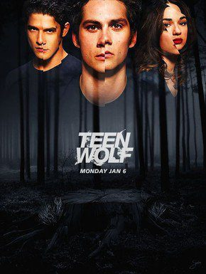 Cartel Temporada 3 de 'Teen Wolf'
