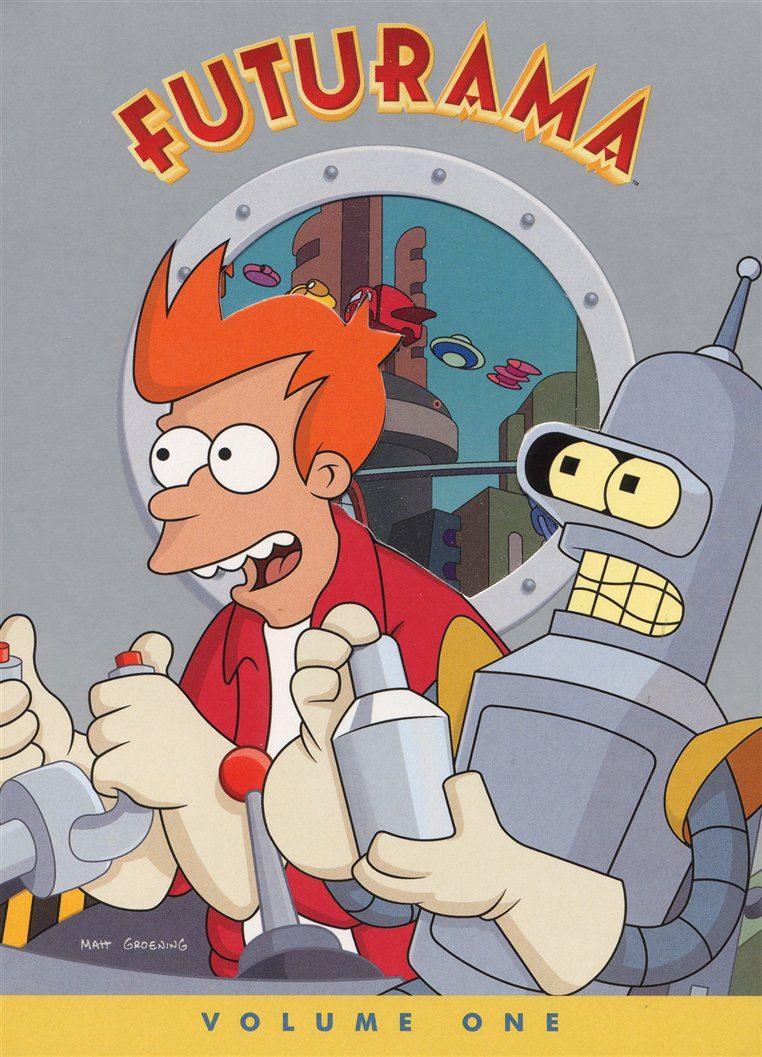 Cartel Temporada 1 de 'Futurama'