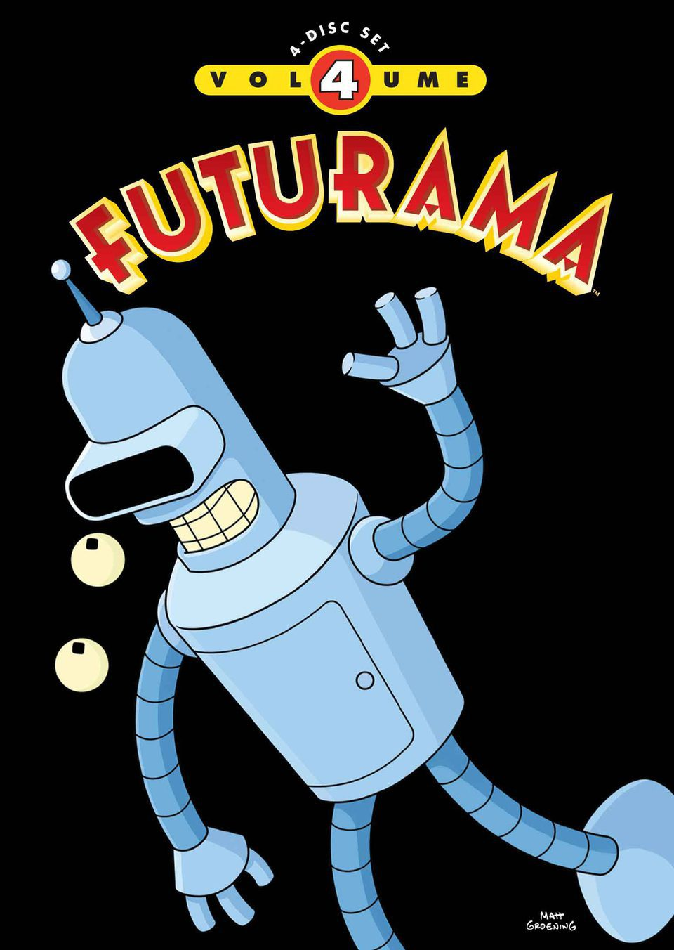Cartel Temporada 4 de 'Futurama'