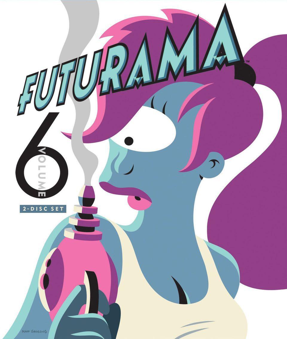 Cartel Temporada 6 de 'Futurama'