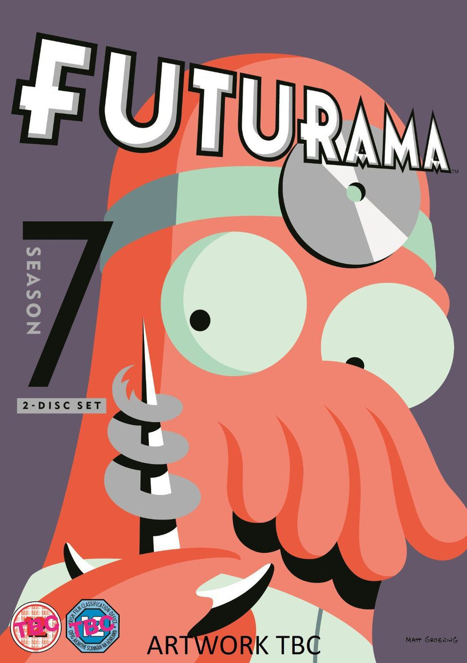 Cartel Temporada 7 de 'Futurama'