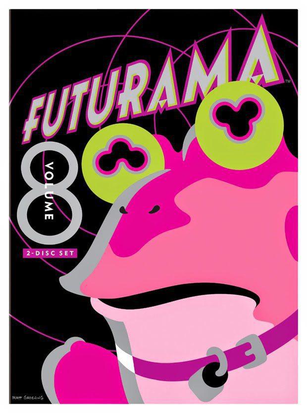 Cartel Temporada 8 de 'Futurama'