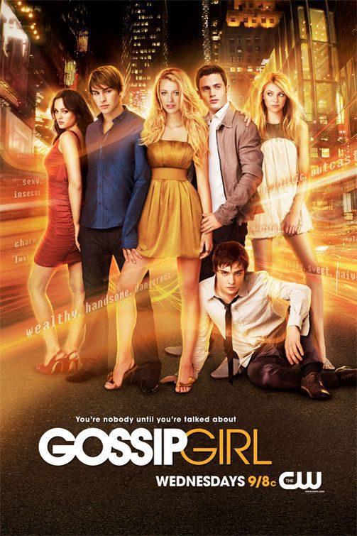 Cartel Temporada 1 de 'Gossip Girl'
