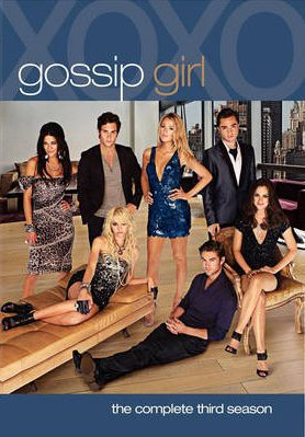 Cartel Temporada 3 de 'Gossip Girl'