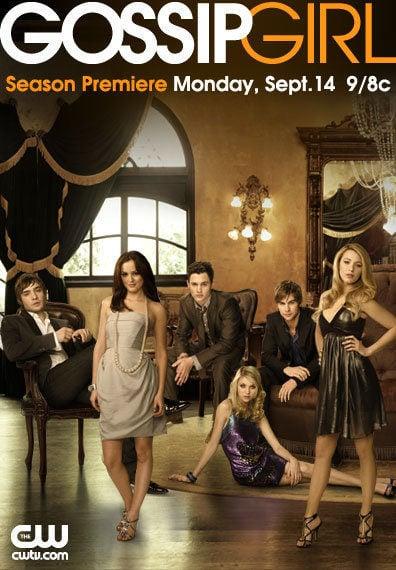 Cartel Temporada 4 de 'Gossip Girl'