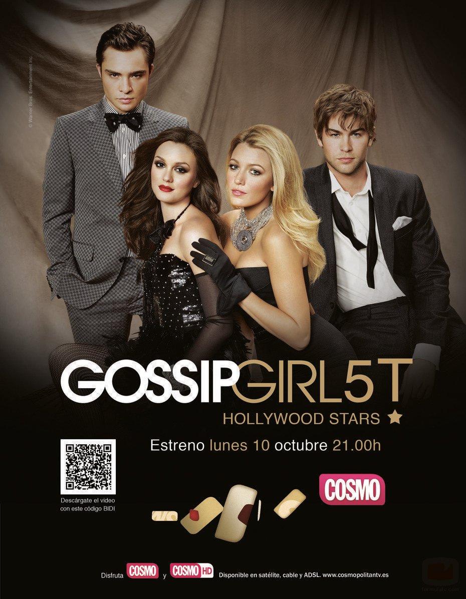 Cartel Temporada 5 de 'Gossip Girl'