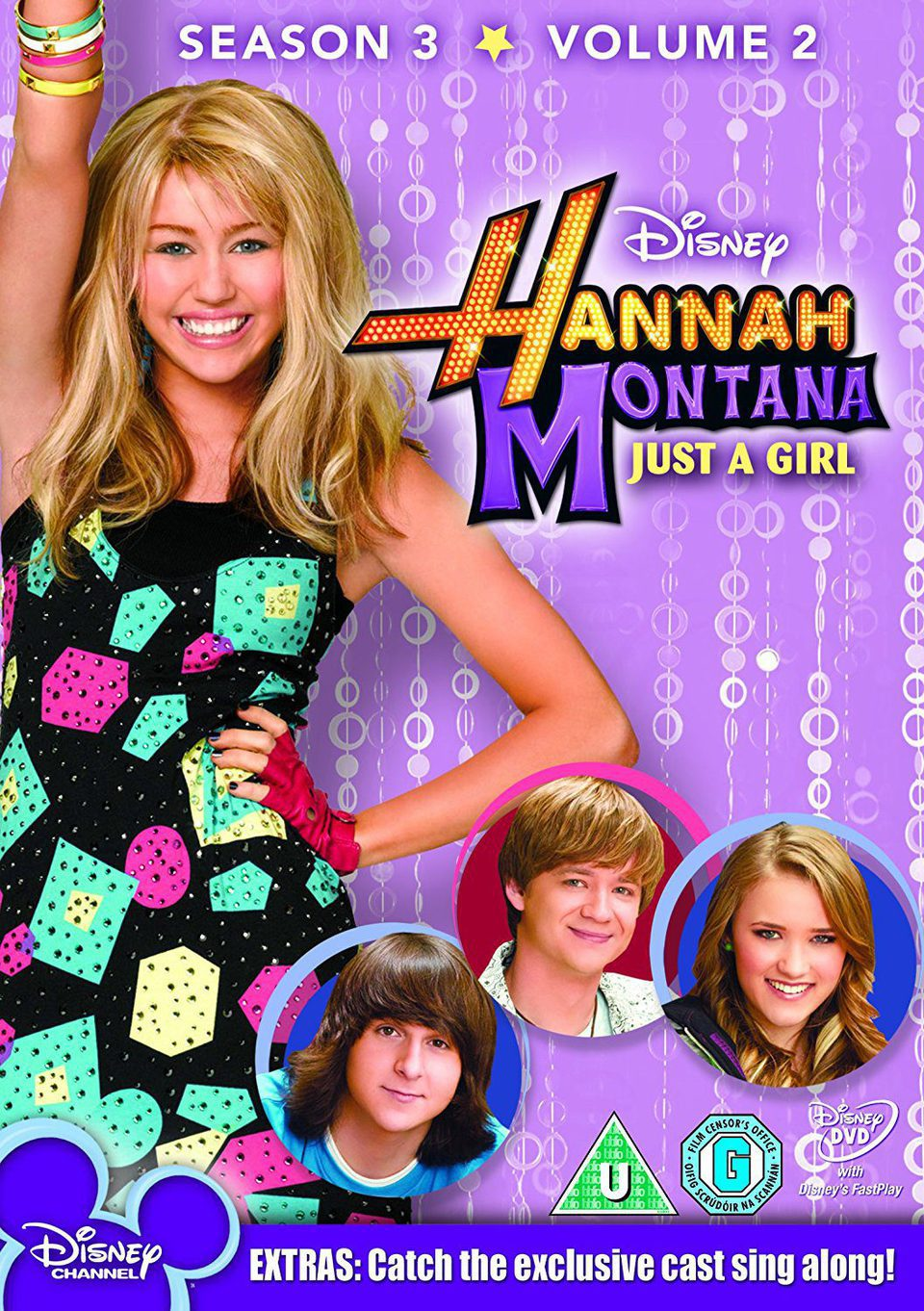 Cartel Temporada 3 de 'Hannah Montana'