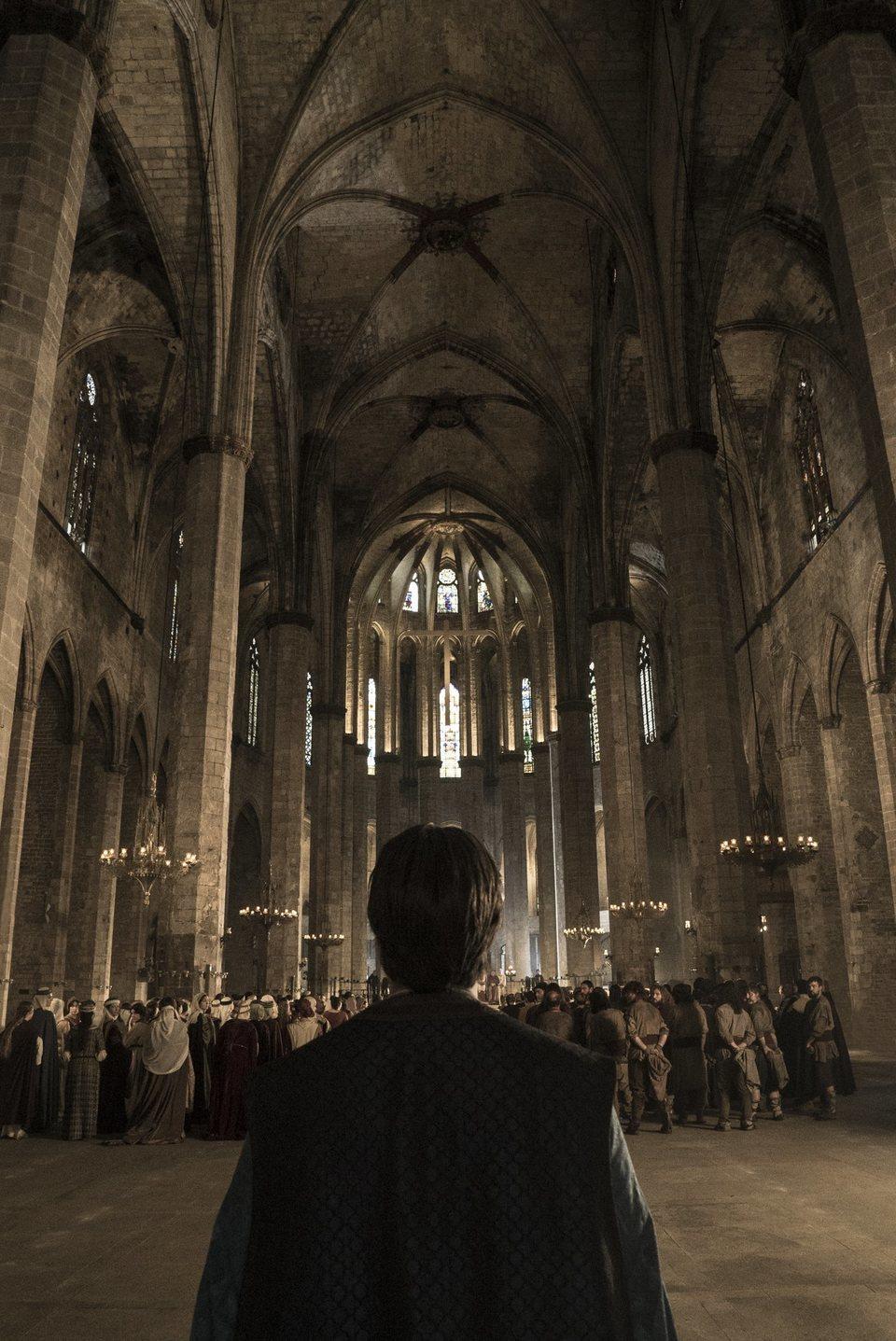 Cartel Teaser de 'La catedral del mar'