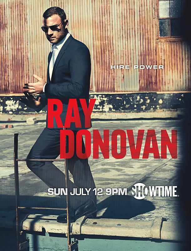 Cartel Temporada 3 de 'Ray Donovan'