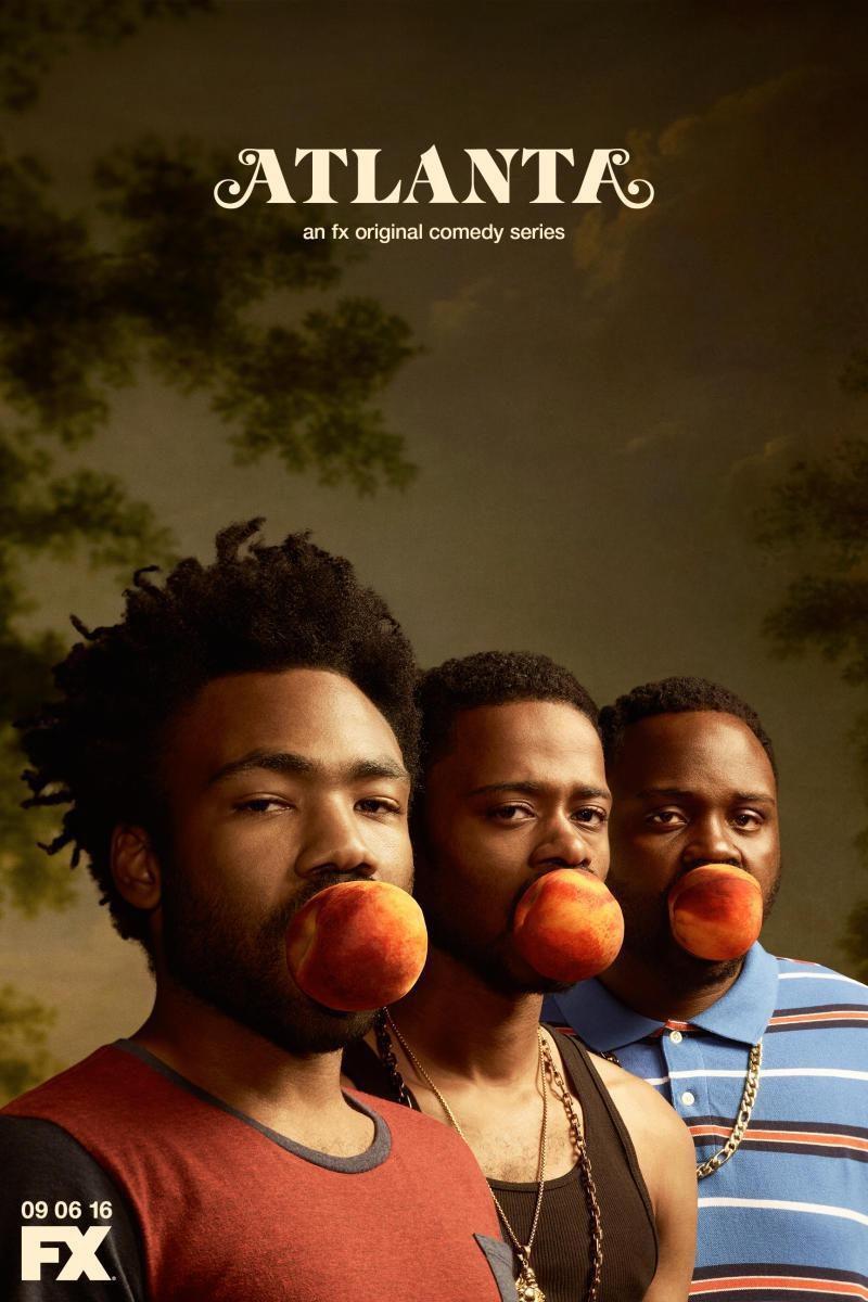 Cartel Primera temporada de 'Atlanta'