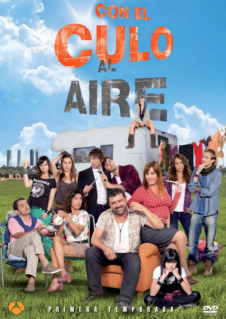 Cartel Temporada 1 de 'Con el culo al aire'