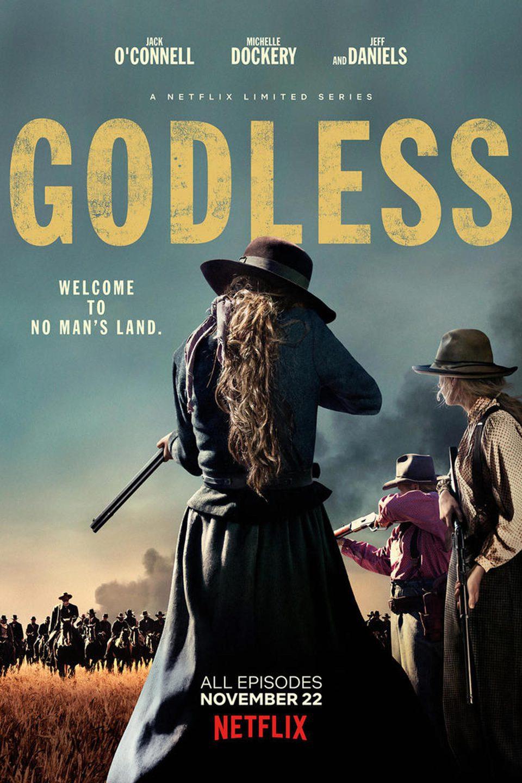 Cartel Temporada 1 de 'Godless'