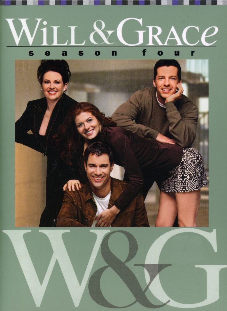 Cartel Temporada 4 de 'Will y Grace'