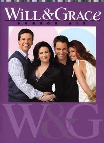 Cartel Temporada 6 de 'Will y Grace'
