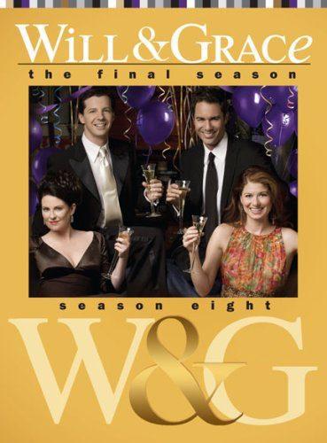 Cartel Temporada 8 de 'Will y Grace'