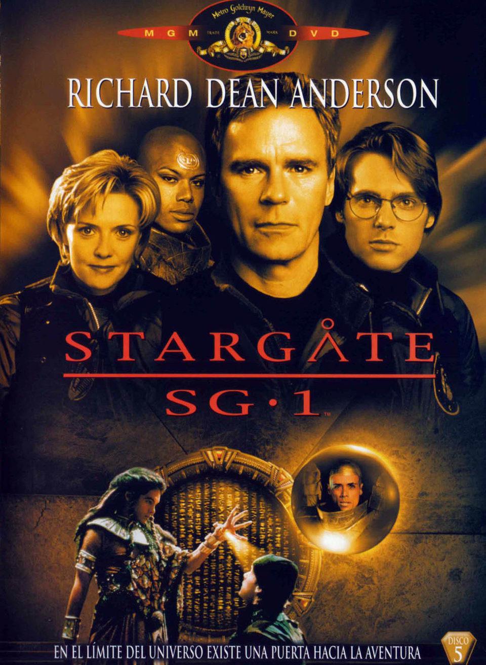 Cartel Temporada 1 de 'Stargate SG-1'