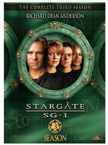 Cartel Temporada 3 de 'Stargate SG-1'