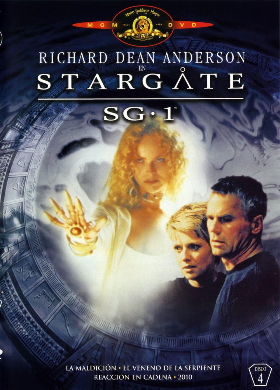 Cartel Temporada 4 de 'Stargate SG-1'
