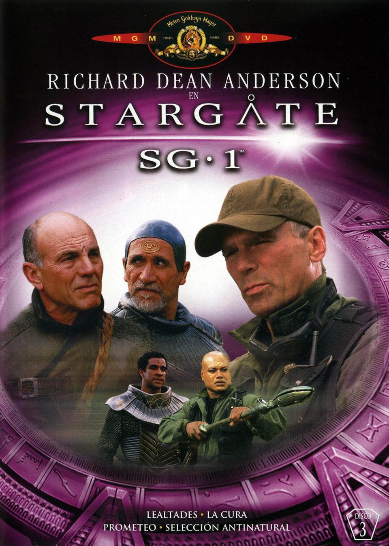 Cartel Temporada 6 de 'Stargate SG-1'