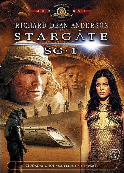 Cartel Temporada 8 de 'Stargate SG-1'