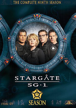 Cartel Temporada 9 de 'Stargate SG-1'