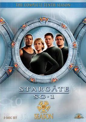 Cartel Temporada 10 de 'Stargate SG-1'