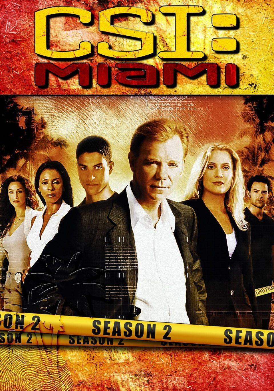 Cartel Temporada 2 de 'CSI: Miami'