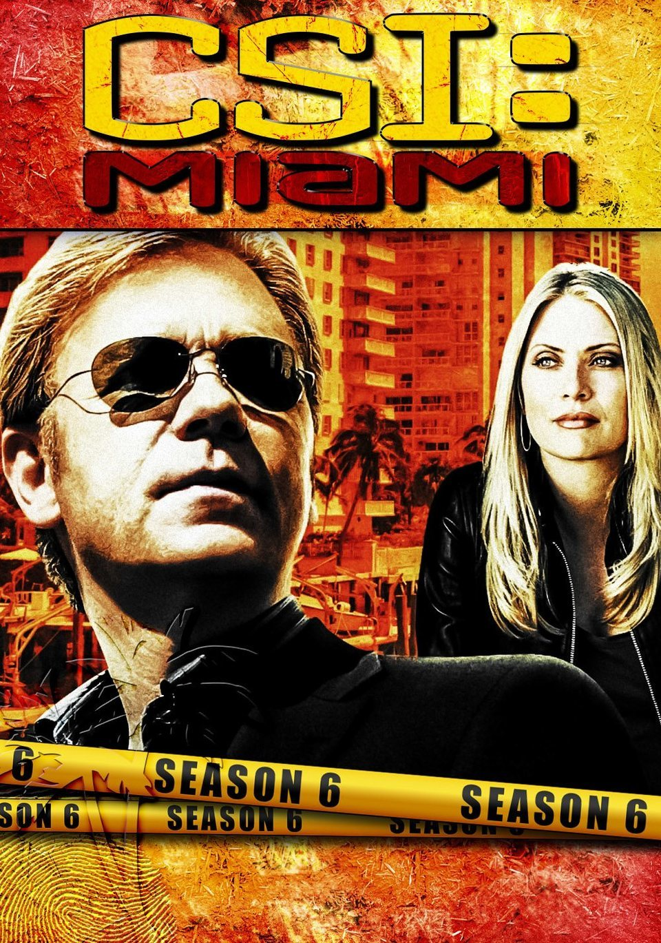 Cartel Temporada 6 de 'CSI: Miami'