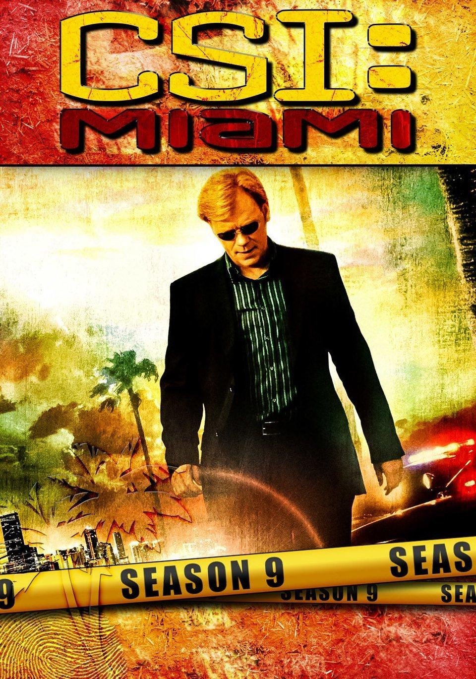 Cartel Temporada 9 de 'CSI: Miami'