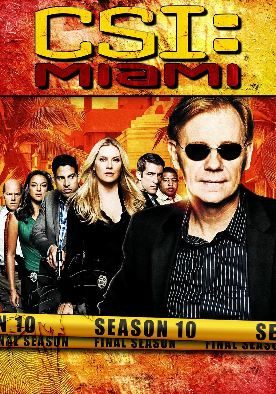 Cartel Temporada 10 de 'CSI: Miami'
