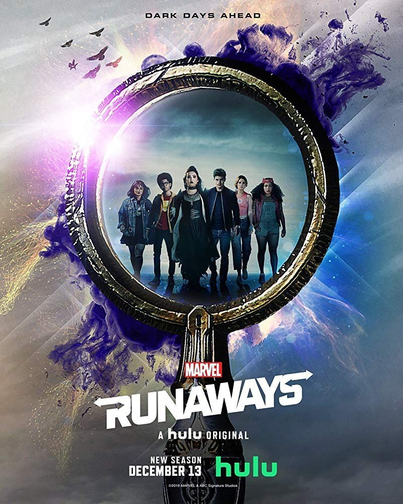 Cartel Temporada 3 de 'Runaways'