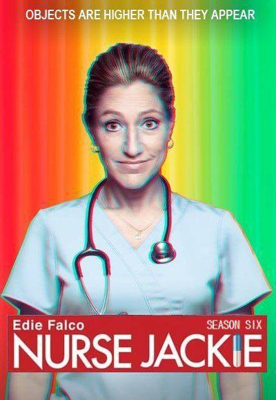 Cartel Sexta Temporada de 'Nurse Jackie'