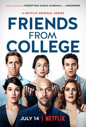 Cartel Temporada 1 de 'Amigos de la universidad'