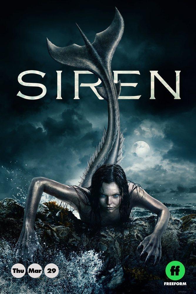 Cartel Temporada 1 de 'Siren'