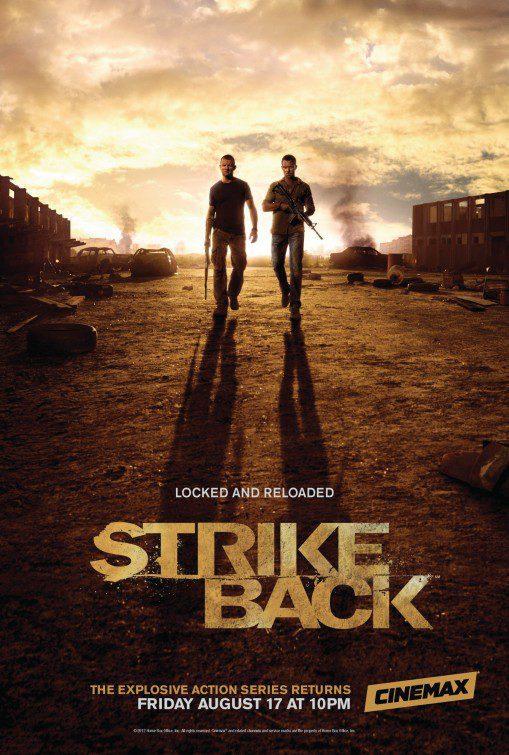 Cartel  de 'Strike Back'